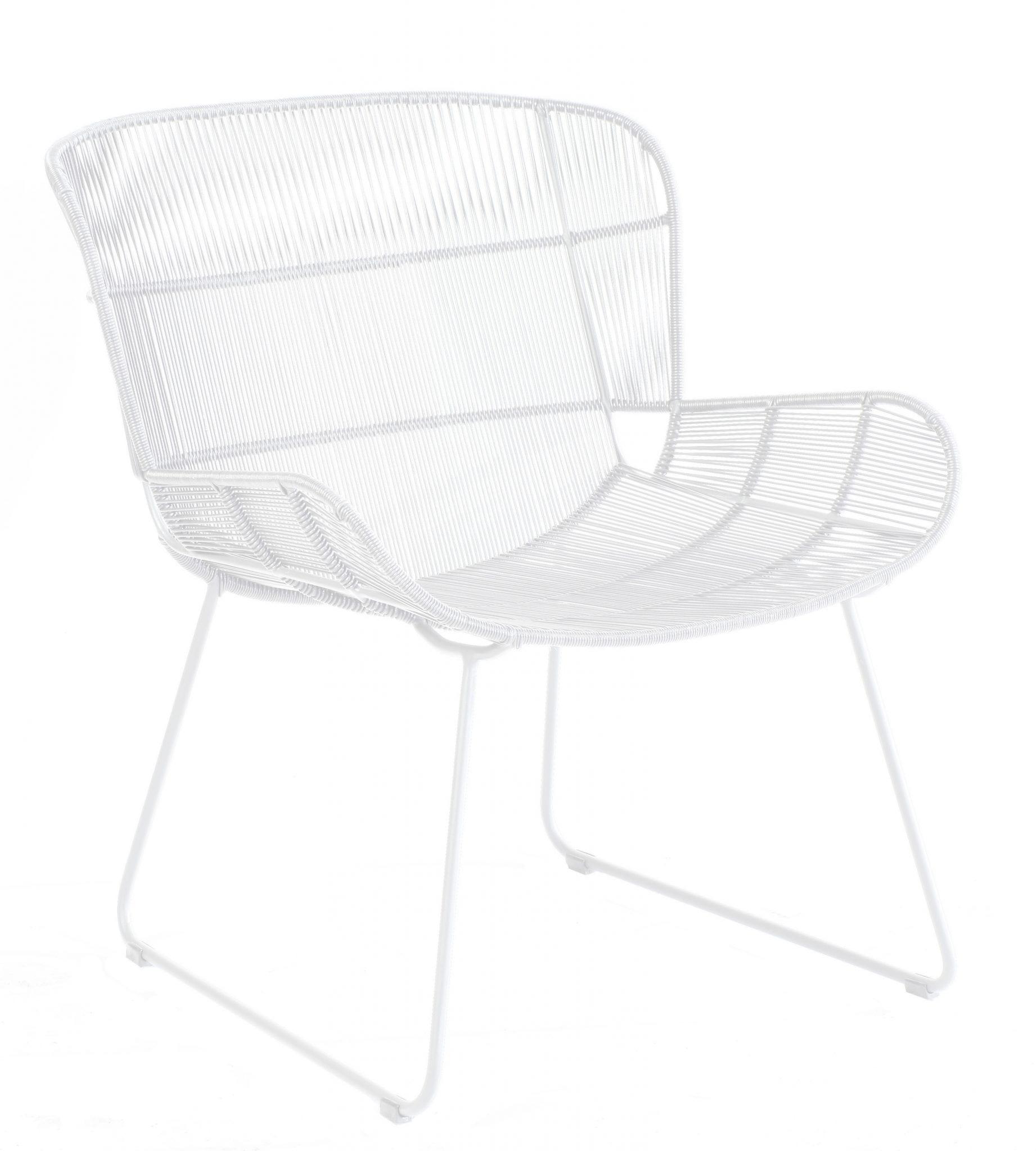 Faye lounge chair - white | Max & Luuk