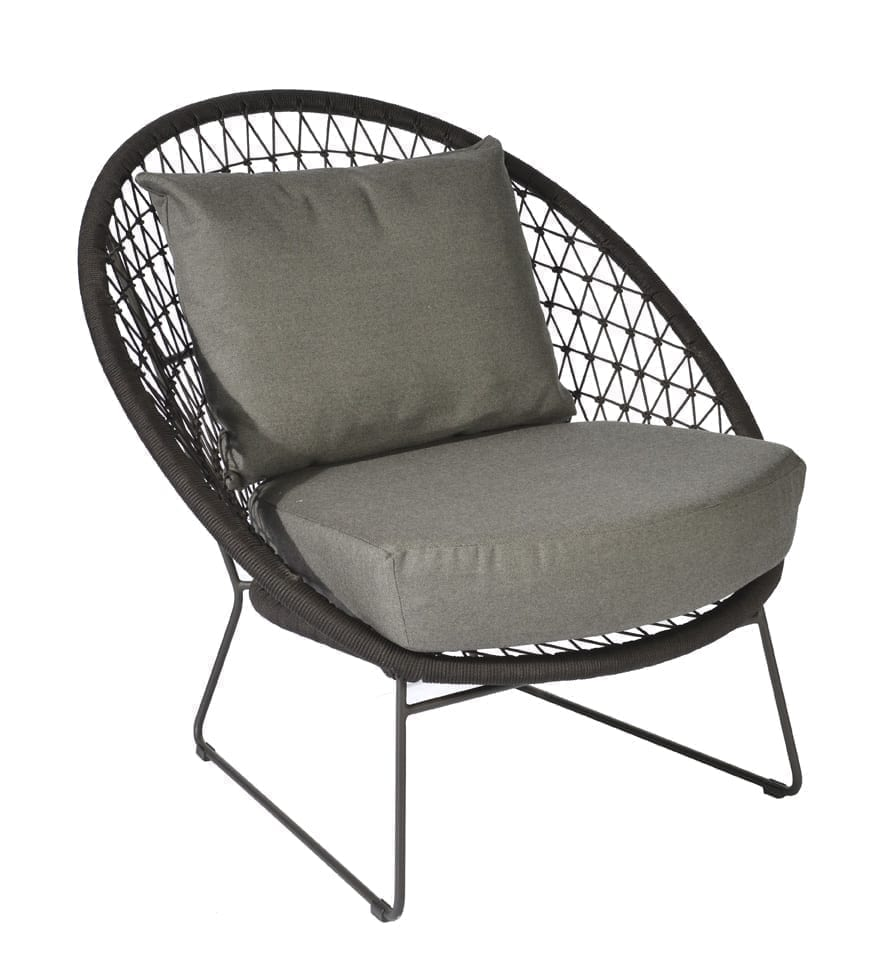 Nora lounge chair - espresso | Max & Luuk