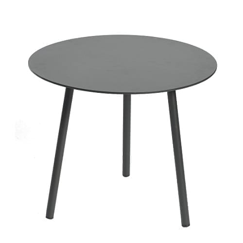 Kick side table ⌀50×42 - black | Max & Luuk