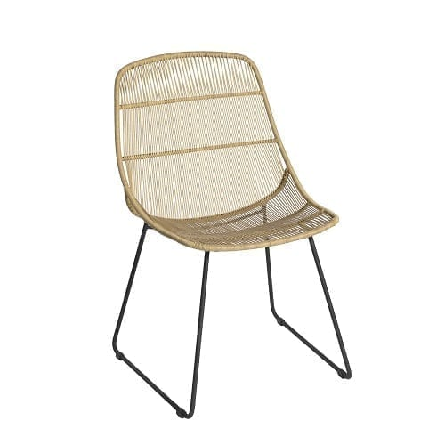 Stef chair without armrests - natural | Max & Luuk
