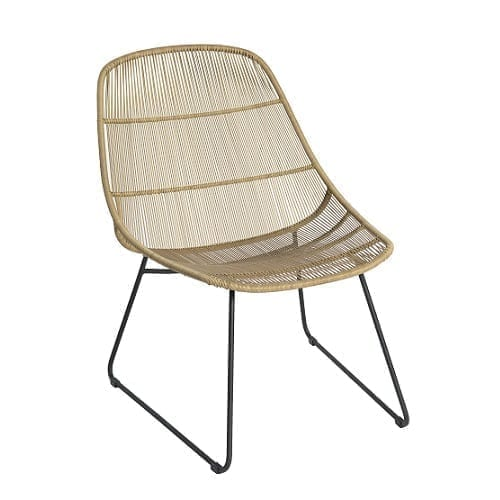 Stef lounge chair - natural | Max & Luuk