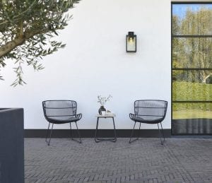 Faye lounge chair and Liz side table | Max & Luuk