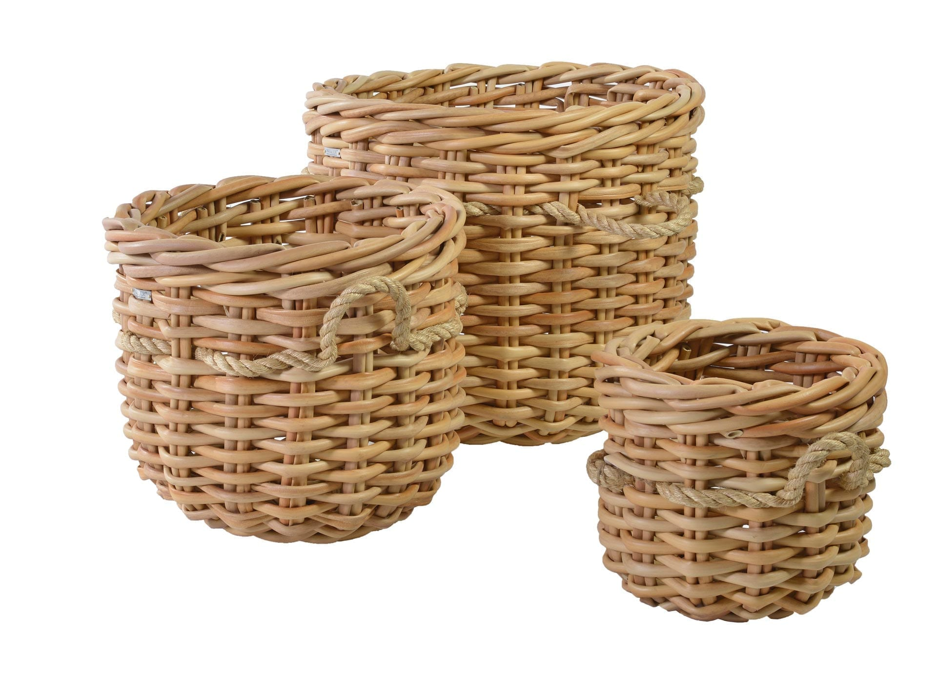 Marly basket round - collection | Max & Luuk
