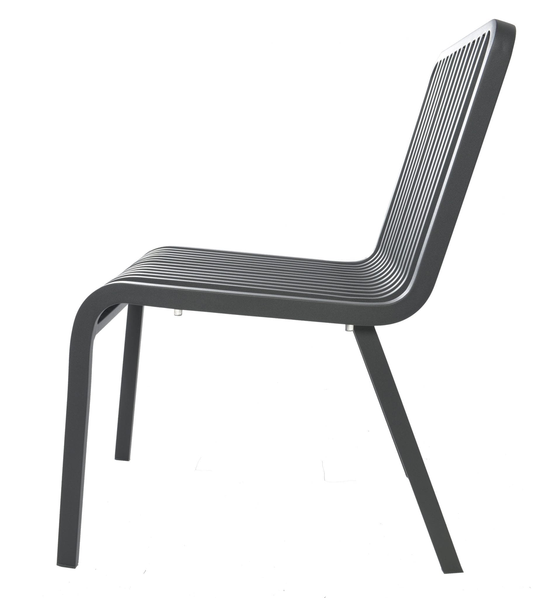 Stripe chair - anthracite | Max & Luuk