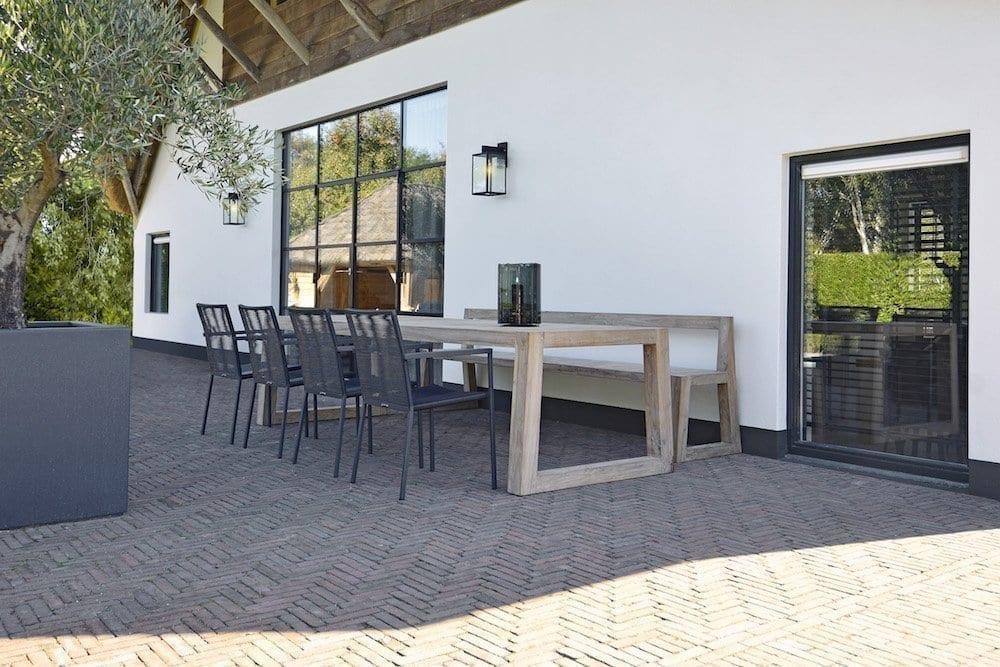 Teak Mason table and Maud chairs | Max & Luuk