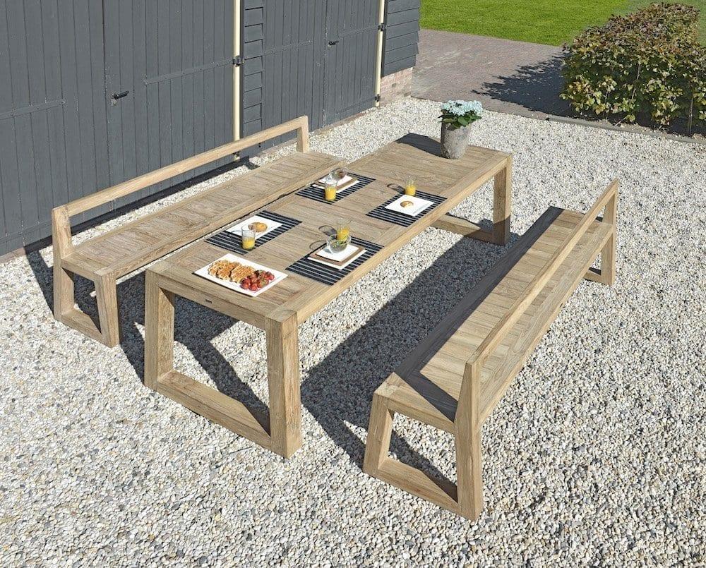 Mason table and bench | Max & Luuk