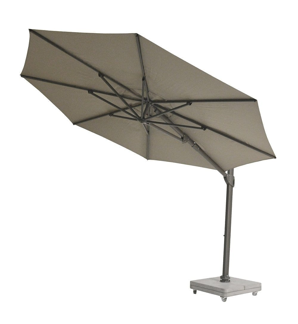 Vince parasol 350 - taupe | Max & Luuk