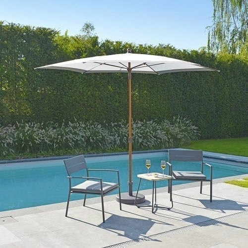 Grace lounge chairs and Beach parasol   Max & Luuk