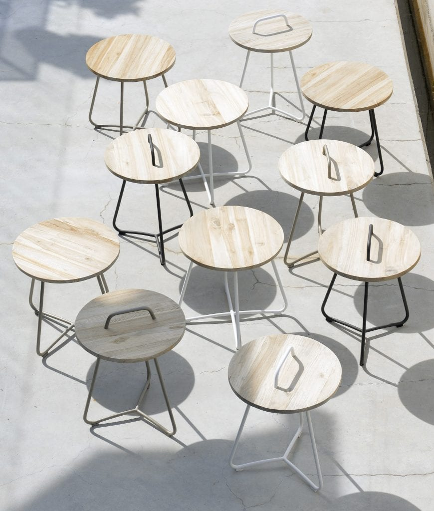 Ava side tables and Lily side tables | Max & Luuk