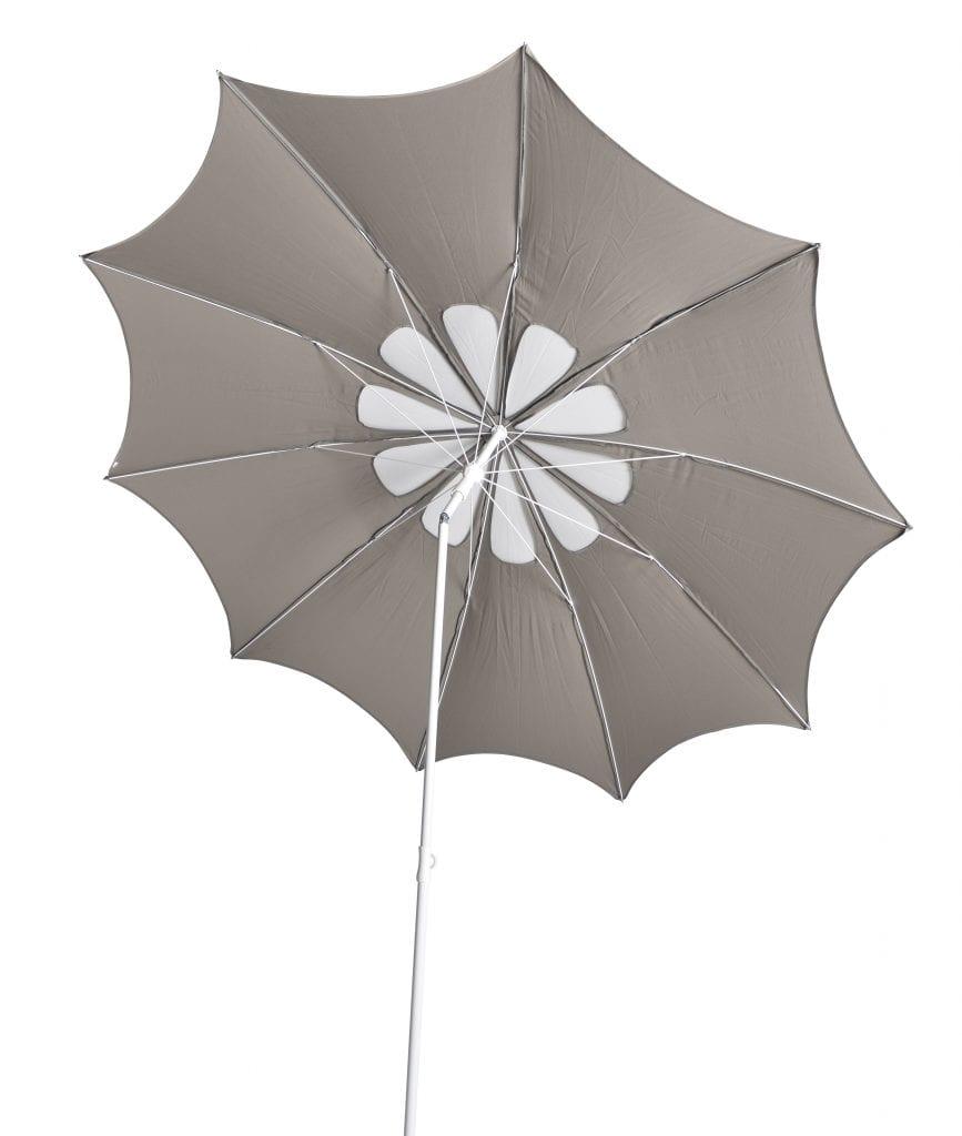 Flora parasol - taupe white | Max & Luuk