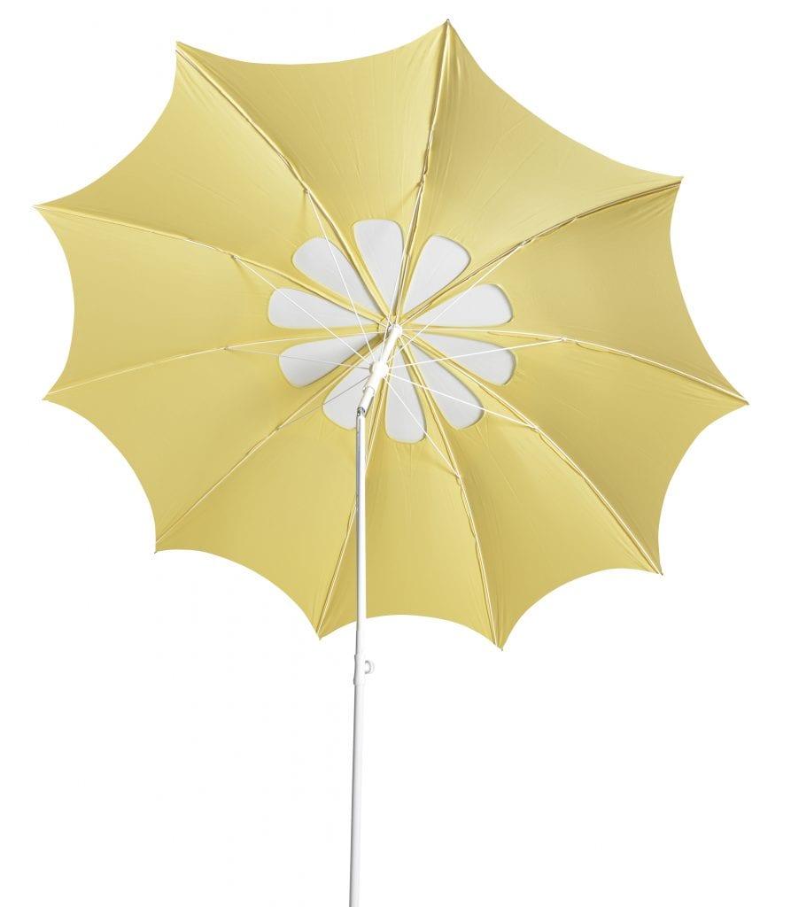 Flora parasol - yellow white | Max & Luuk