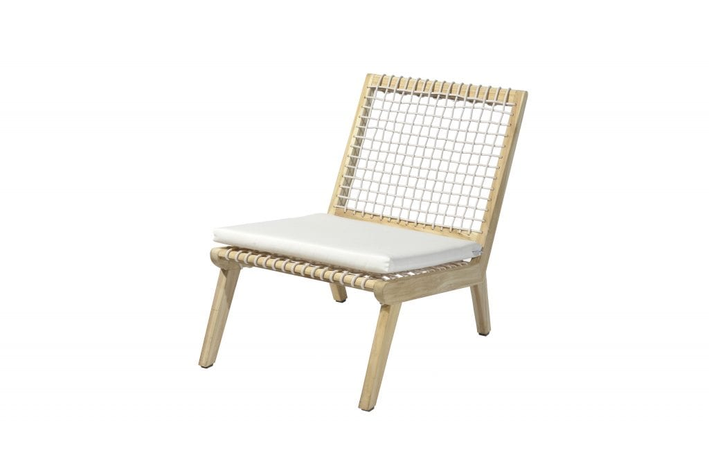 Lucy lounge chair with cushions | Max & Luuk