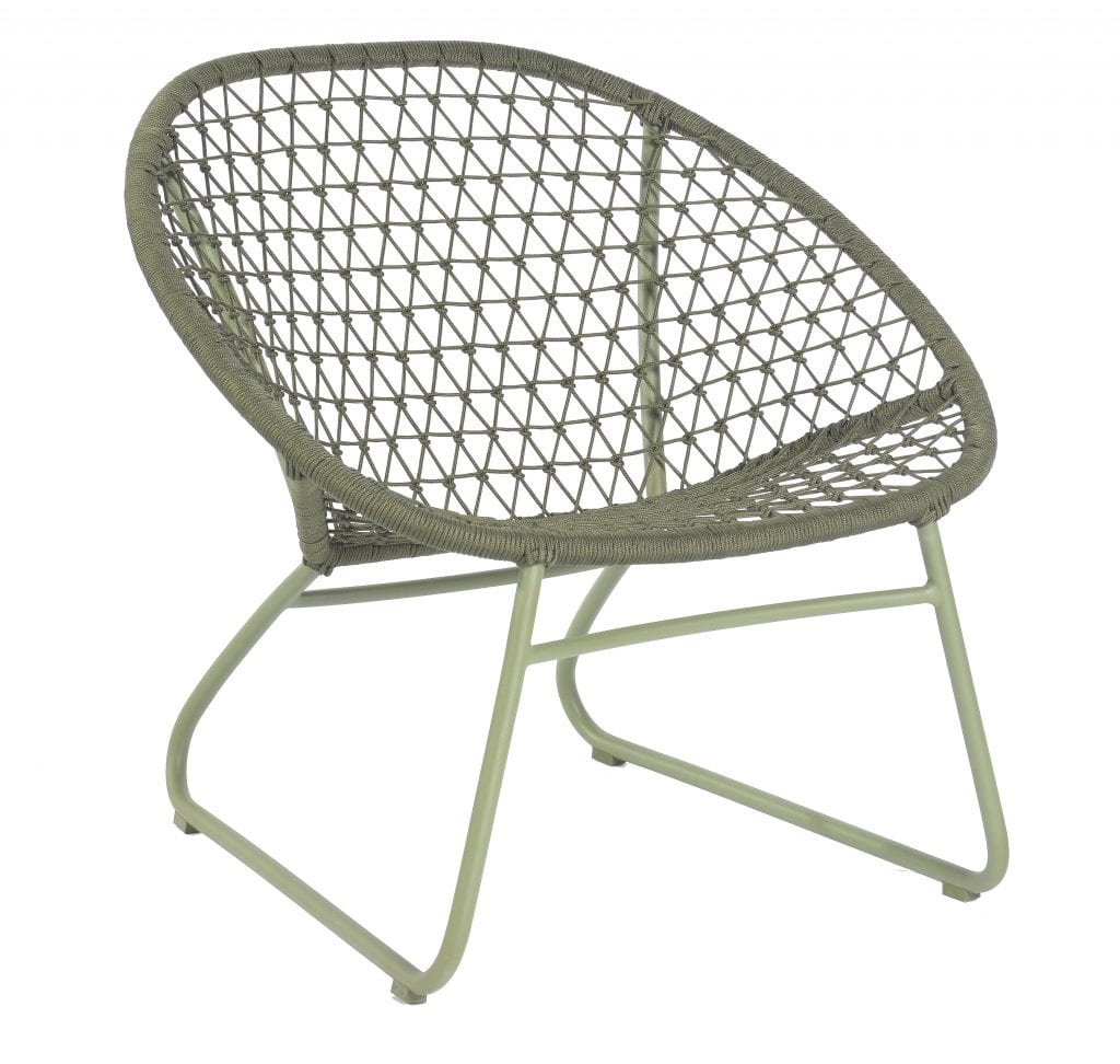 Bella occasional chair - moss | Max & Luuk