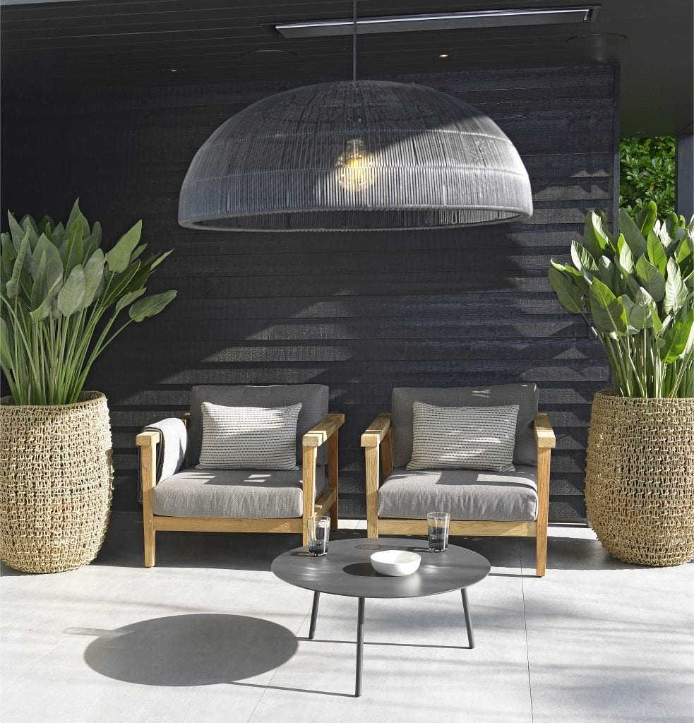 Duke lounge chairs and Tim lampshade | Max & Luuk